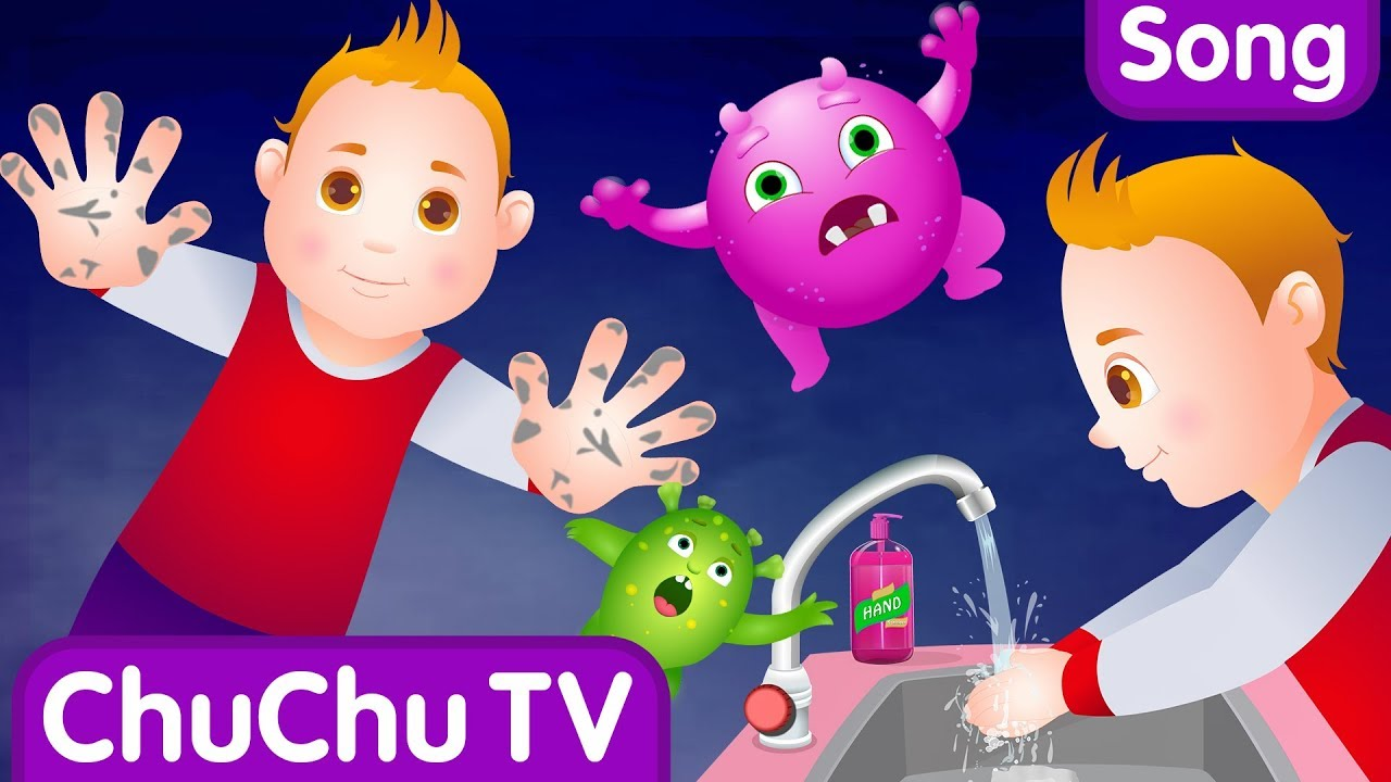 Wash Your Hands Song for Kids | Good Habits Nursery Rhymes For Children | ChuChu TV