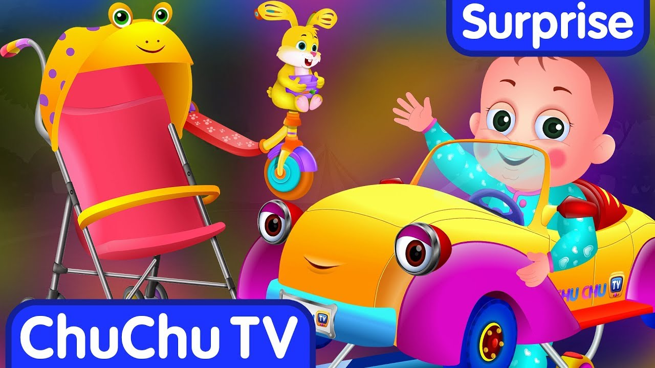 Surprise Eggs Toys – BABY Vehicles for Kids | Stroller, Baby Walker & more | ChuChu TV Egg Surprise