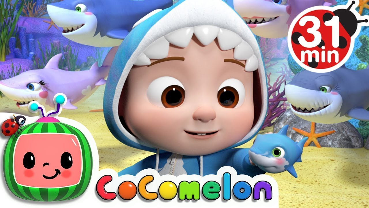 Baby Shark 2: Hide and Seek | +More Nursery Rhymes & Kids Songs – Cocomelon (ABCkidTV)