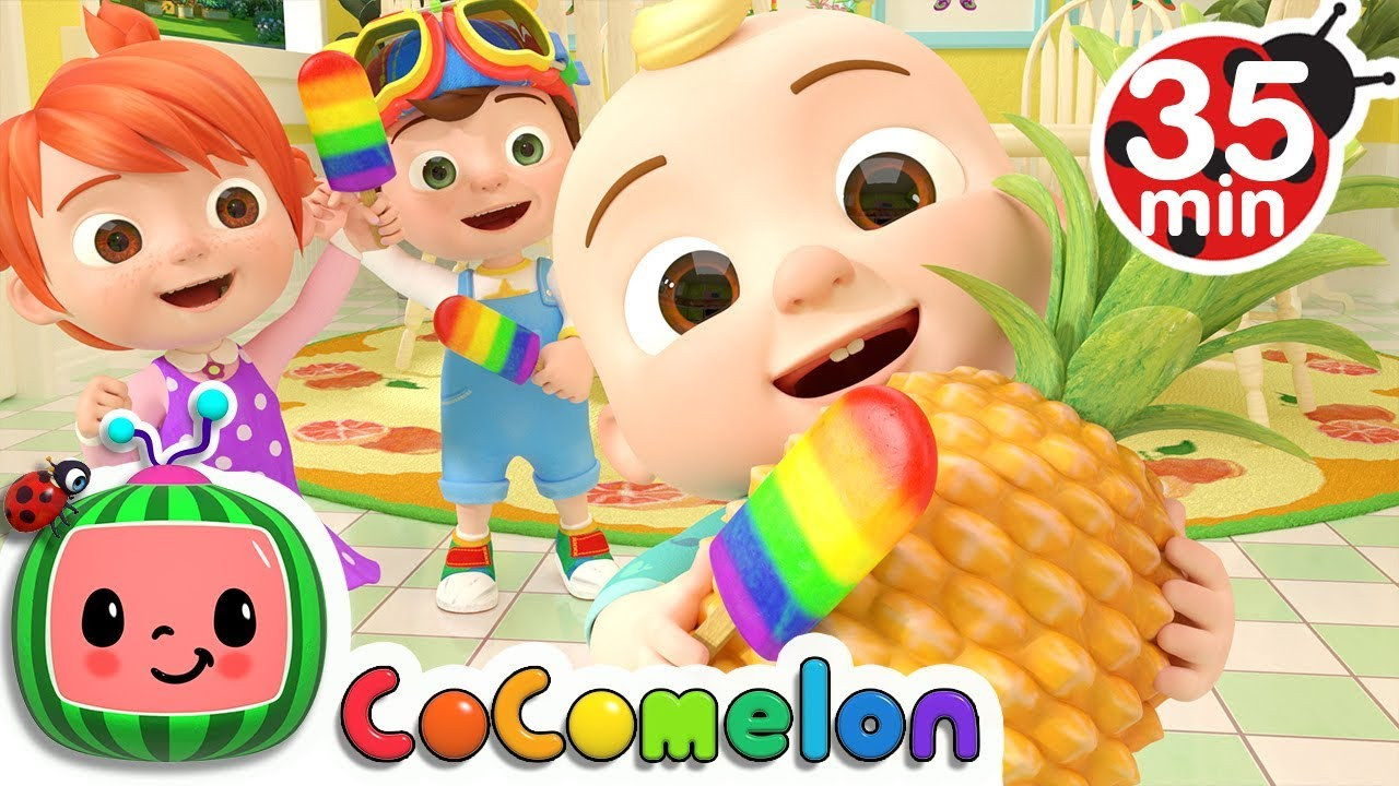 Color Song (Ice Pop) | +More Nursery Rhymes – Cocomelon