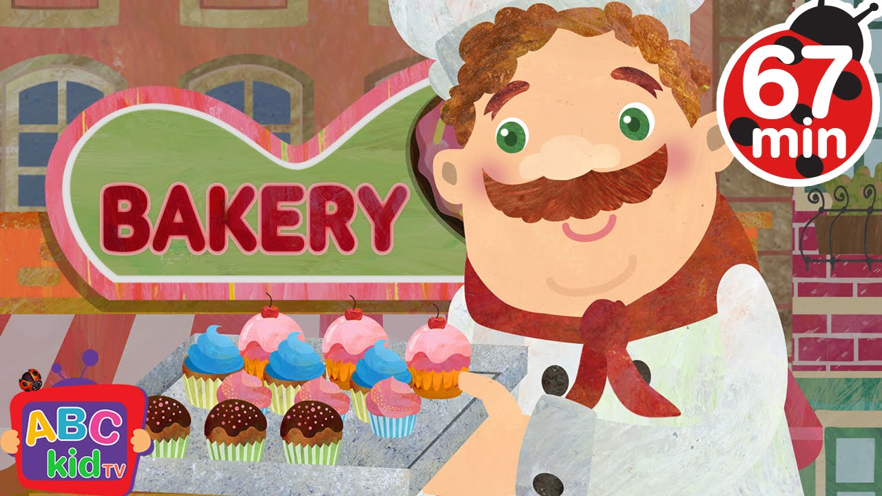 Muffin Man (2D) | +More Nursery Rhymes & Kids Songs – Cocomelon (ABCkidTV)