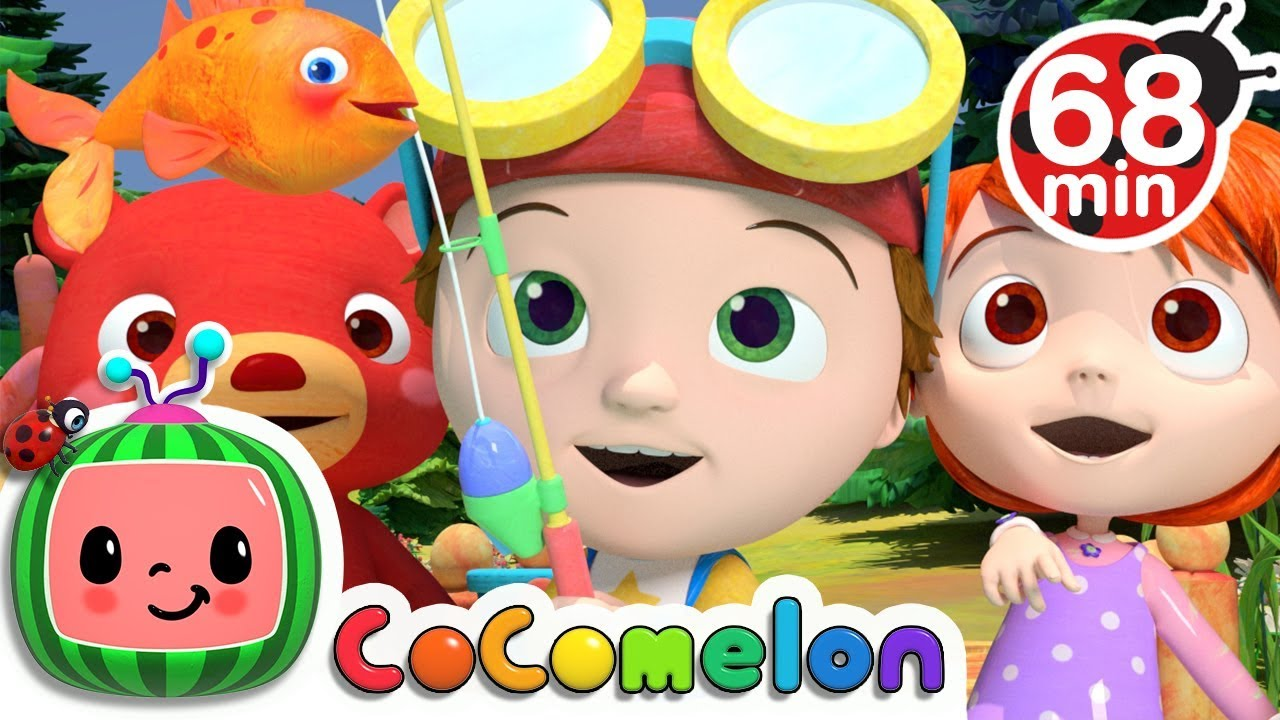 12345 Once I Caught a Fish Alive | +More Nursery Rhymes & Kids Songs – Cocomelon (ABCkidTV)
