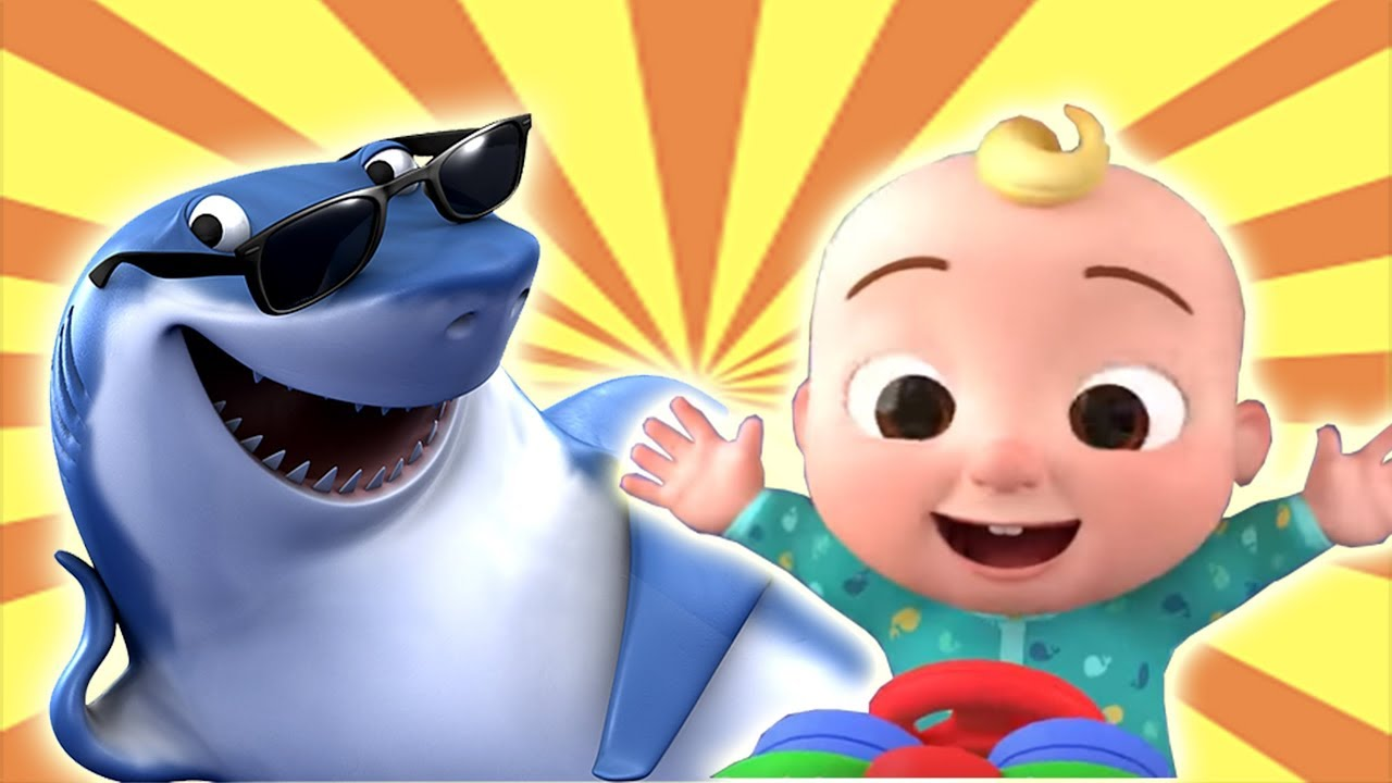 Drawing Cocomelon Baby Shark Upin Ipin Didi Friends Kids Tv Nursery Rhymes For Baby