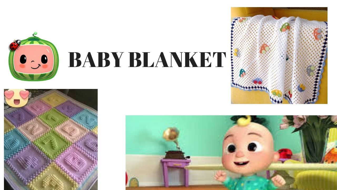 2019 Baby Blanket Cocomelon