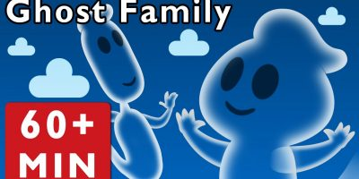 Ghost Family and More | Nursery Rhymes from Mother Goose Club!