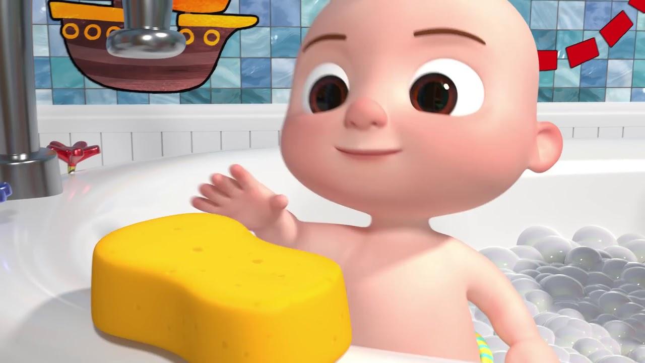 Bath Song   Cocomelon ABCkidTV Nursery Rhymes & Kids Songs
