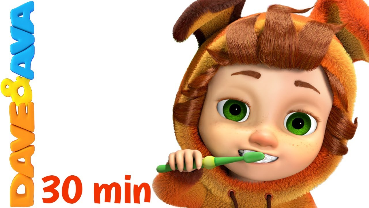 ? Nursery Rhymes Collection: Brush Your Teeth | Healthy Habits Songs | Kids Songs from Dave and Ava?