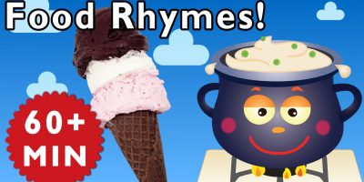 Food Rhymes | Nursery Rhymes from Mother Goose Club!