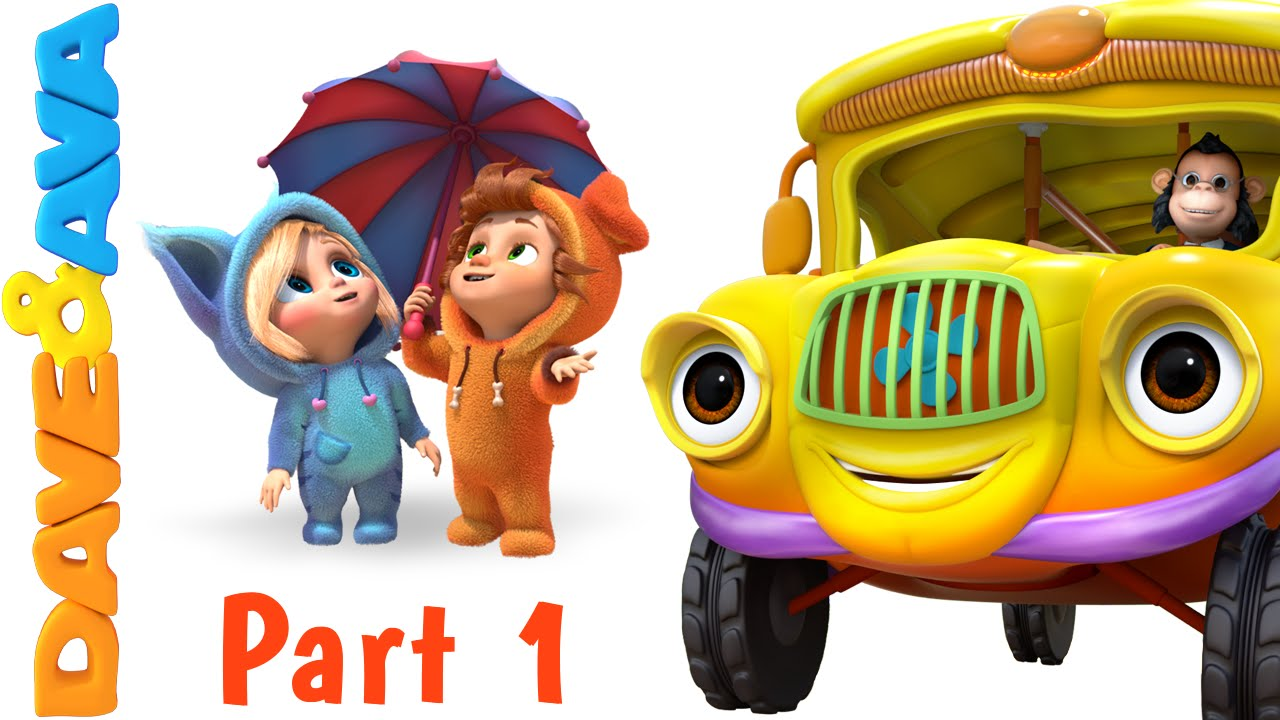 Wheels on the Bus   Nursery Rhymes and Baby Songs from Dave and Ava