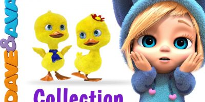 Five Little Ducks | New Nursery Rhymes Collection from Dave and Ava