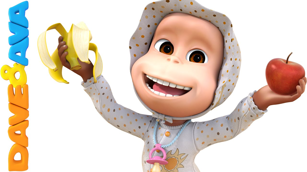 Apples and Bananas Song   Nursery Rhymes and Baby Songs from Dave and Ava