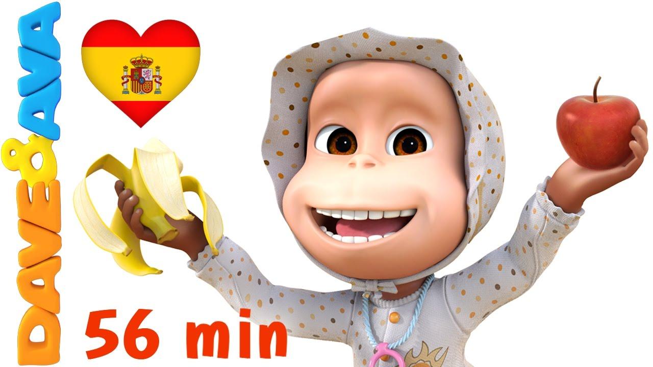? ? Manzanas y Bananas | Canciones Infantiles y Canciones para Bebés de Dave y Ava