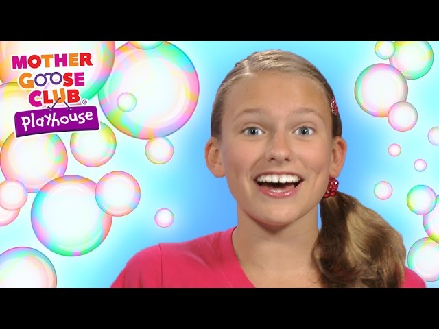 Bubbles | Bubble Pop Game | Mother Goose Club Playhouse Kids Video