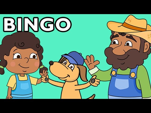 BINGO | Nursery Rhyme Collection from Mother Goose Club!