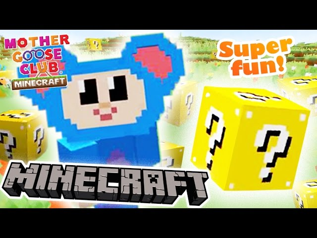 Eep and the Lucky Blocks | Magic Box Zombie Adventure | Mother Goose Club Minecraft