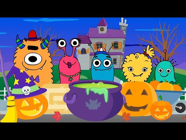Monster Finger Family   NEW BABY MONSTER SONG   Mother Goose Club Playhouse Kids Song