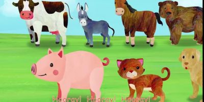 Animal Fair 2D  +More Nursery Rhymes & Kids Songs   Cocomelon ABCkidTV