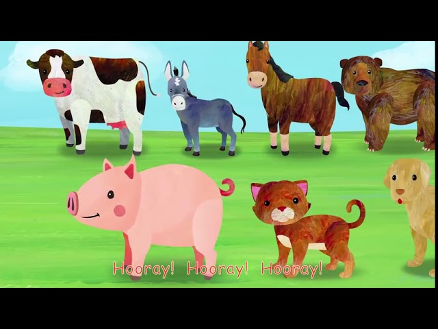 Animal Fair 2D  +More Nursery Rhymes & Kids Songs   Cocomelon ABCkidTV