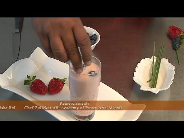 Les Astuces du Chef – Sagou aux lait de coco , melon d'eau et à la citronelle