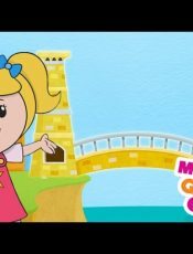 London Bridge Is Falling Down | Mother Goose Club Rhymes for Kids