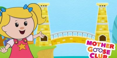 London Bridge Is Falling Down | Mother Goose Club Rhymes for Kids