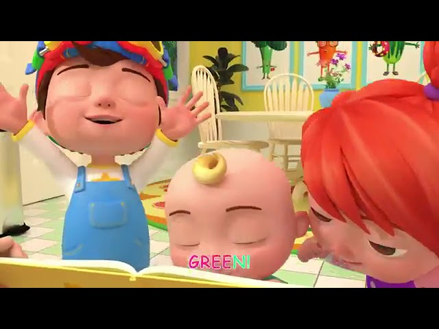 Color Song Cocomelon (ABCkidTV) Nursery Rhymes