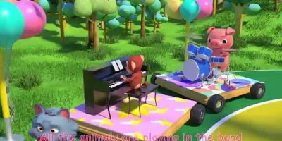 Musical Instruments Song (Animal Band) | Cocomelon (ABCkidTV) Nursery Rhymes & Kids Songs