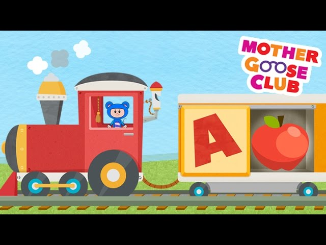 Alphabet Train Food Train | Mother Goose Club Rhymes for Kids