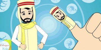 Finger Family (Arab Family) Nursery Rhyme | Cartoon Animation Songs For Children