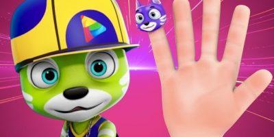 Cat Finger Family   Videogyan 3D Rhymes   Nursery Rhymes For Children