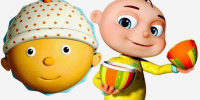 Five Little Babies Eating Cupcakes   Surprise Eggs For Kids   Nursery Rhymes & Children's Songs
