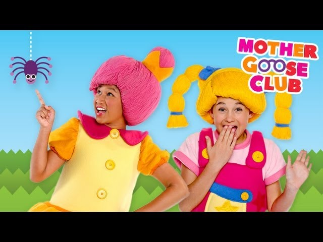 Itsy Bitsy Spider Time – DVD Episode – Mother Goose Club Songs for Children