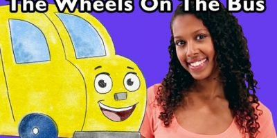 The Wheels on the Bus | Nursery Rhyme Collection from Mother Goose Club!