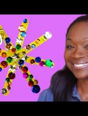 Twinkle Twinkle Little Star Kids Craft | Show Me How by Mother Goose Club Schoolhouse
