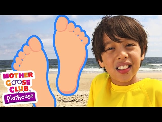 Terrific Toes | Mother Goose Club Playhouse Kids Video