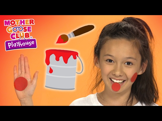 Super Messy Paint Video | Color Me Red | Mother Goose Club Playhouse Kids Video