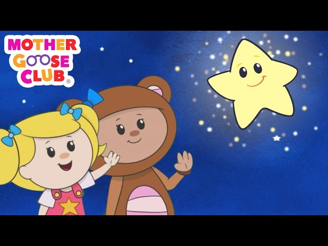 Twinkle Twinkle Little Star | Star Meets New Friends | Mother Goose Club Kid Songs and Baby Songs