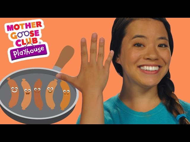 Five Fat Sausages | Mother Goose Club Playhouse Kids Video