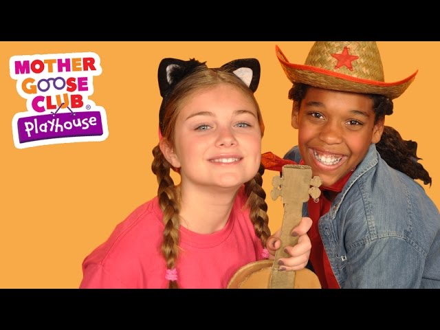 A Cat Came Fiddling out of a Barn | Mother Goose Club Playhouse Kids Video