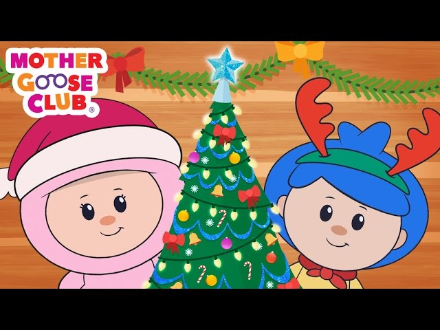 Christmas Holiday Fun | Deck the Halls | Mother Goose Club Kid Songs and Baby Songs