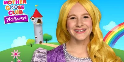 Princess Color Game | Real Princess Rainbow Challenge | Mother Goose Club Playhouse Kids Video