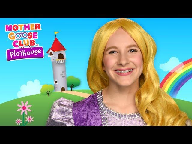 Princess Color Game | Real Princess Rainbow Challenge | Mother Goose Club Playhouse Kids Video