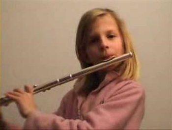 Twinkle Twinkle Little Star (flute)