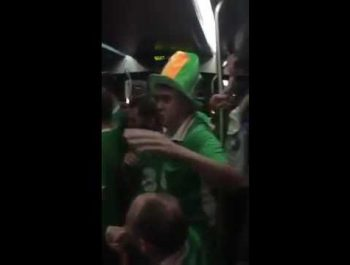 Irish fans sing twinkle twinkle little star | Hey Bro.ie
