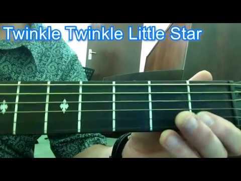 Twinkle Twinkle Little Star for Beginner Guitar