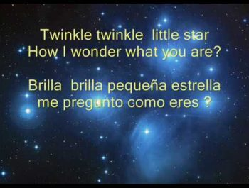 Twinkle twinkle little star – Brilla , brilla pequeña estrella