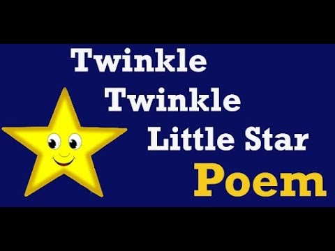 ||TWINKLE TWINKLE LITTLE STAR|| BEAUTIFUL NEW POEMS||