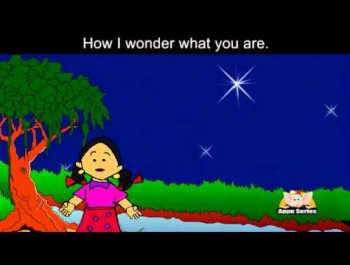 Twinkle Twinkle Little Star with Lyrics and Sing Along option