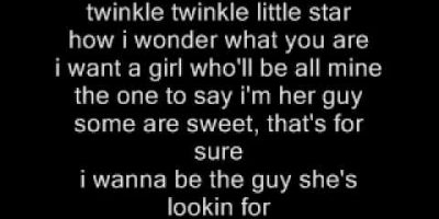 Twinkle Twinkle Little Star Lyrics