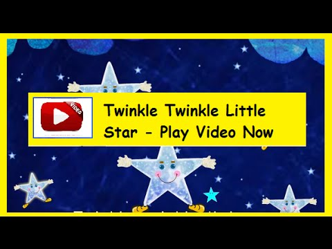 Twinkle twinkle little star – English Nursery Rhymes HD